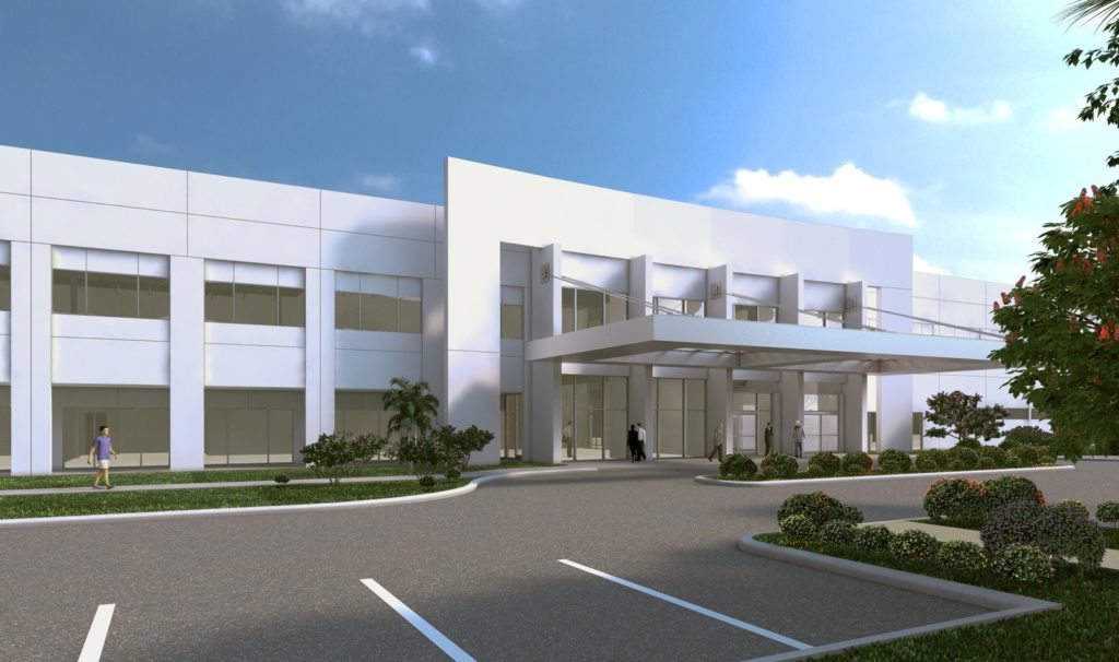 CGI of PET Imaging Institute's Fort Lauderdale, Florida office
